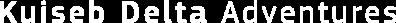 Kuiseb Delta Adventures Logo