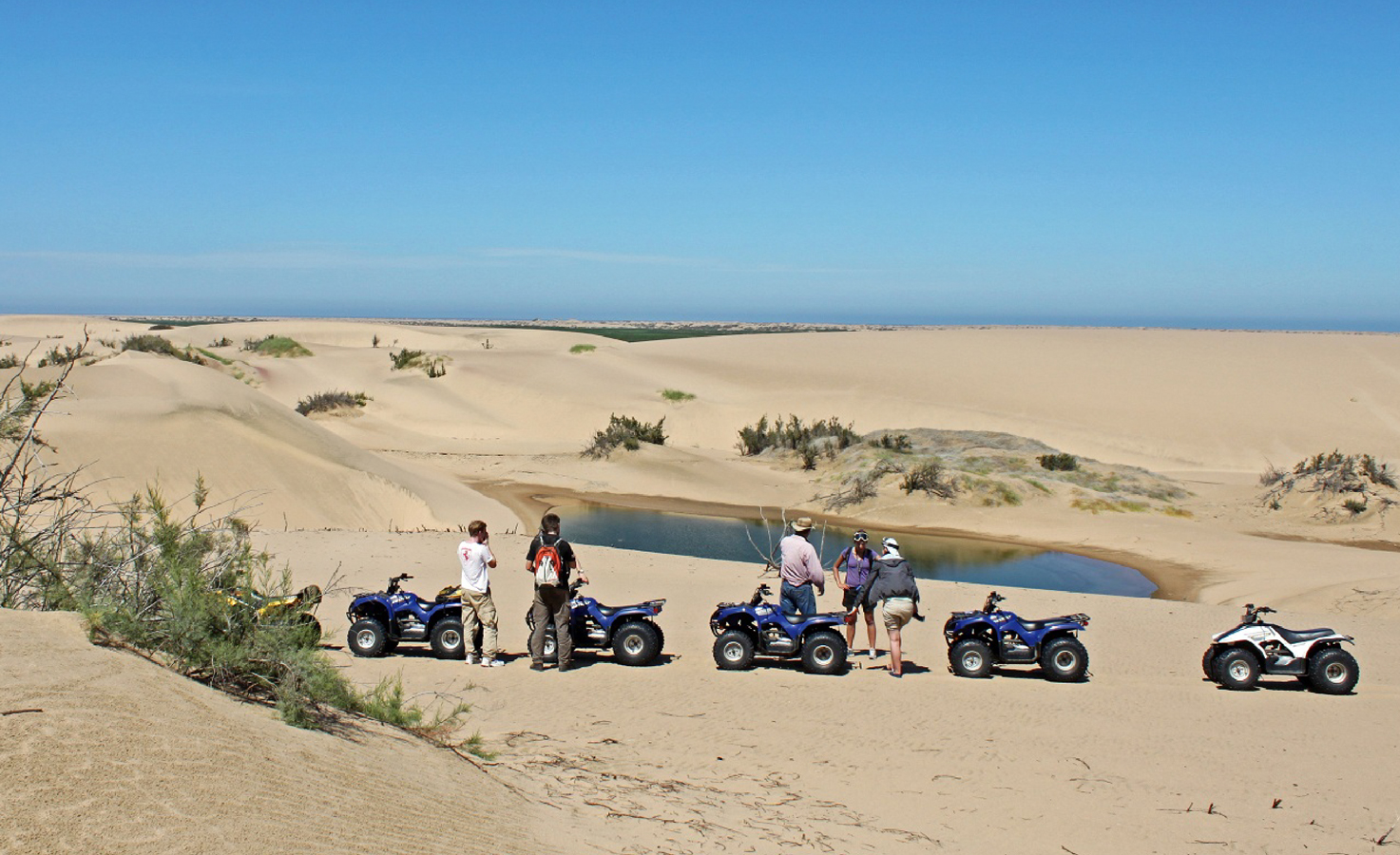 About Kuiseb Delta Adventures - Namib Desert Tours On A Quad Bike