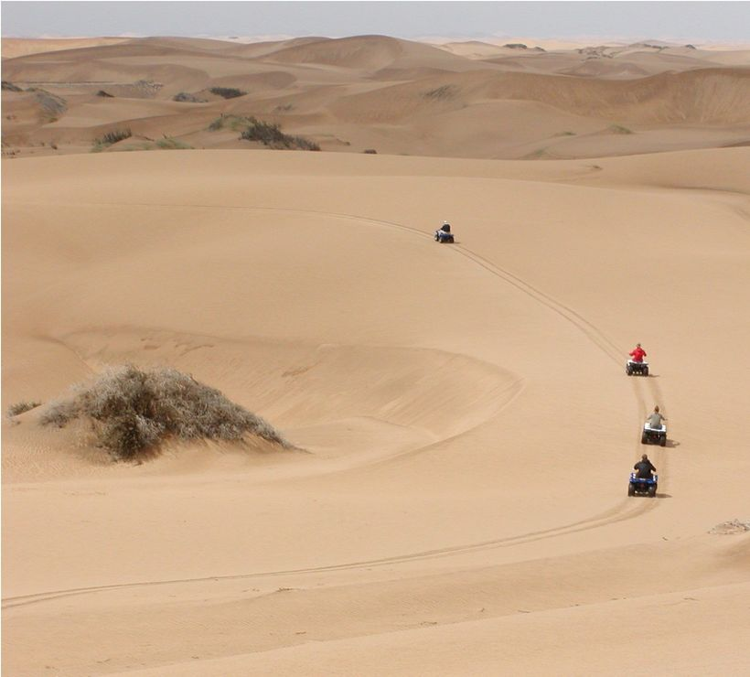 Kuiseb Delta Adventures - Experience The Namib Desert On A Quadbike